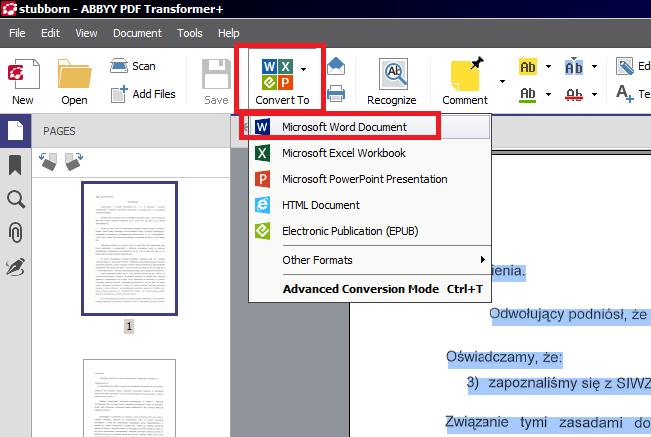 Doc Datei In Pdf Umwandeln