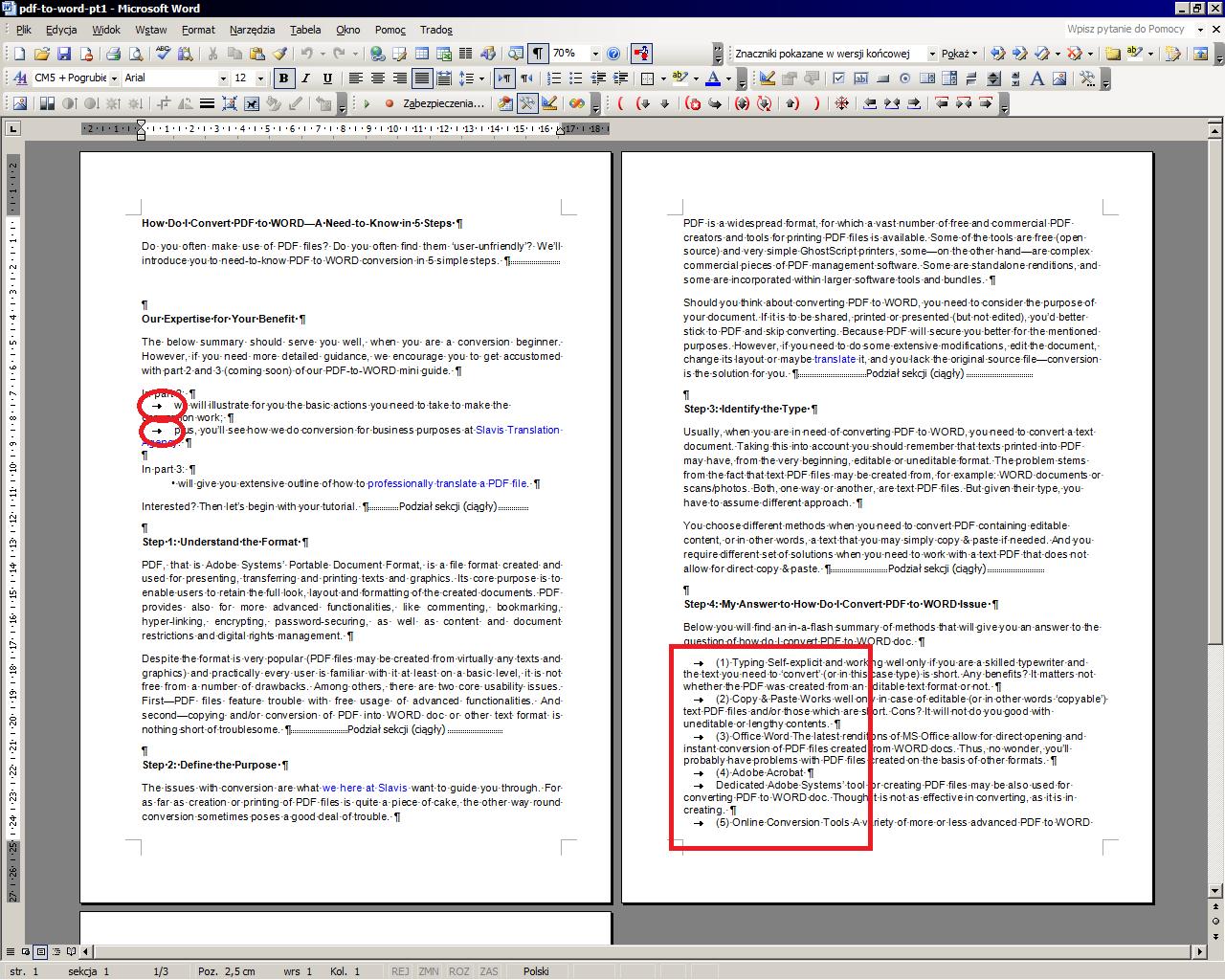 word to adobe pdf converter online